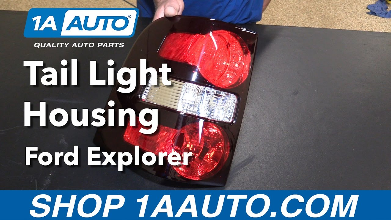 How to replace install tail light housing 2006 10 ford explorer buy quality parts from 1aauto com