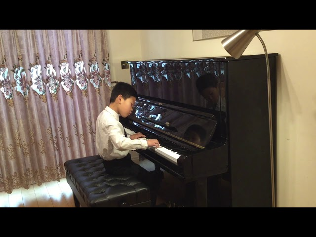 Henle Piano Competition 2020 Zerui Liu