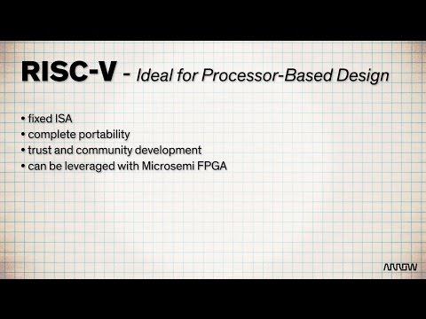 Microsemi RISC-V IP Processor Core - YouTube