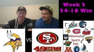 Minnesota Vikings Week 1 Review!!