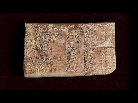 Babylonians developed: trigonometry superior to the modern version 3,700 years ago.