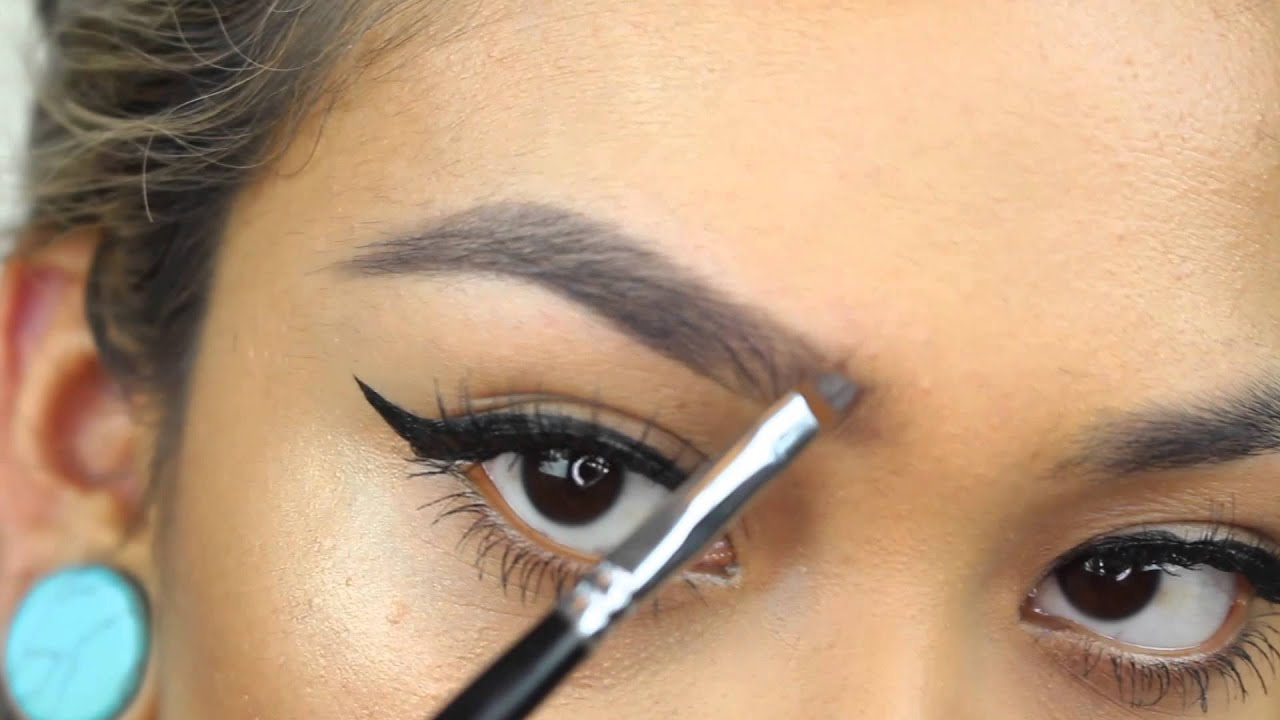How To Naturally Fill In Patchy Eyebrows Greciabeauty Youtube