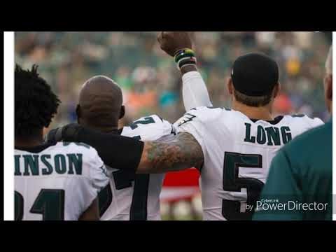 Chris Long becomes first white NFL player to participate in national anthem protest