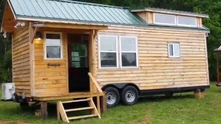 Tiny House Custom Built By Hummingbird Of Georgia 8.5 X 26