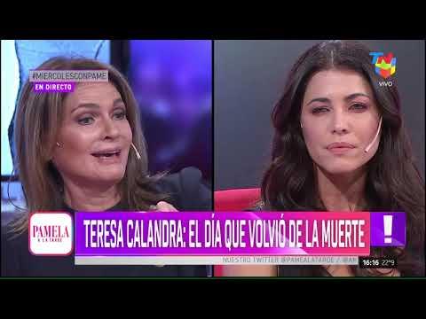 Teresa Calandra: Estuve muerta durante más de un minuto