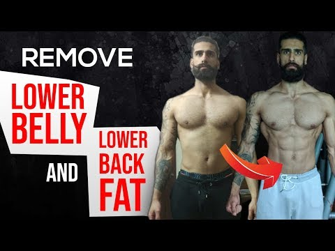 Get Rid of STUBBORN FAT FAST (Scientific Way) | Burn Lower Belly and Lower Back Fat