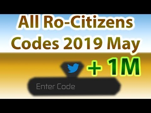 Codes for roblox rocitizens 2019 april