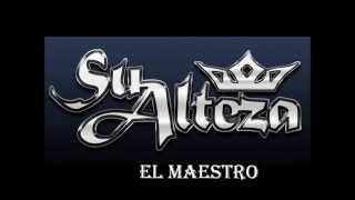 SU ALTEZA  EL MAESTRO