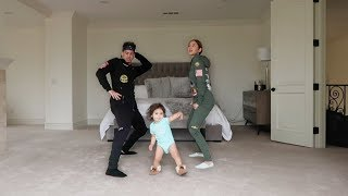 HILARIOUS DANCE CLASS WITH 1 YEAR OLD BABY!!! thumbnail