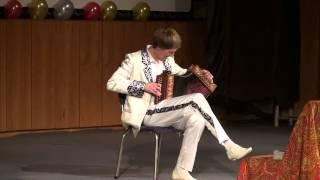 Цыганочка-играет Павел Уханов на гармони-ливенке