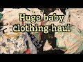 Newborn Clothing Haul / H&M, Target, Kohls