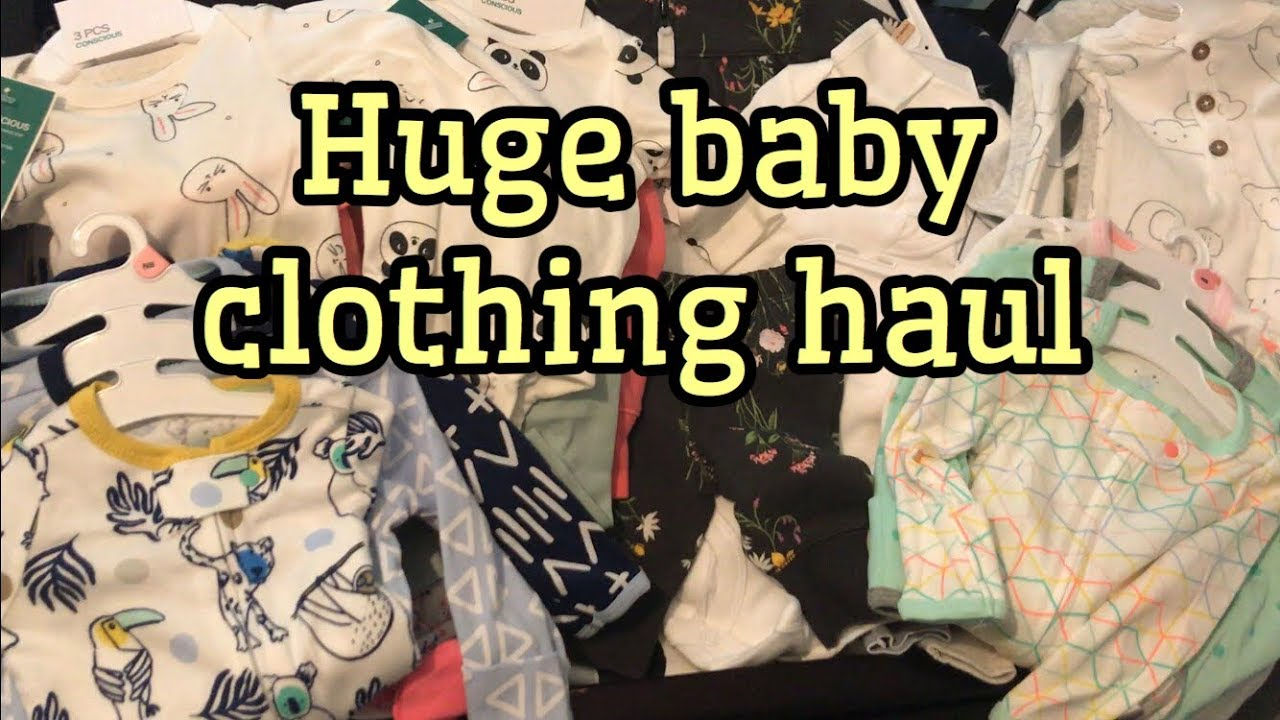 fdd824923 Newborn Clothing Haul / H&M, Target, Kohls - YouTube