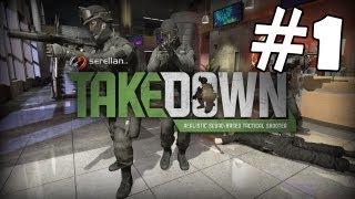 Takedown Red Sabre Walkthrough Part 1 FREE GAME Gameplay Review Lets Play Playthrough PC [HD]