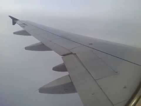 Airbus A320 US Airways approach and landing rwy 27R Philadelphia International Airport