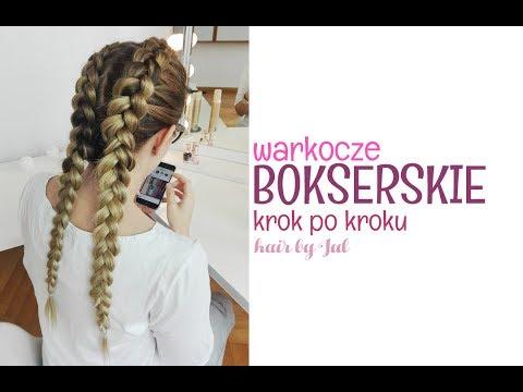 Warkocze Bokserskie Krok Po Kroku Hair By Jul