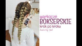 Warkocze bokserskie krok po kroku - hair by Jul