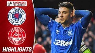 Rangers 0-0 Aberdeen | Aberdeen's Defense Denies Rangers | Ladbrokes Premiership