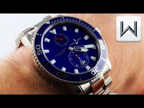 Ulysse Nardin Maxi Marine Diver Limited Edition Dive Watch Chronometer Luxury Watch Review