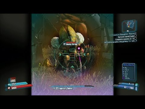 Borderlands 2 Walkthrough: Creature Slaughter - Round 2 |