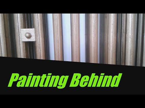 How To Paint Behind Cast Iron Radiators
