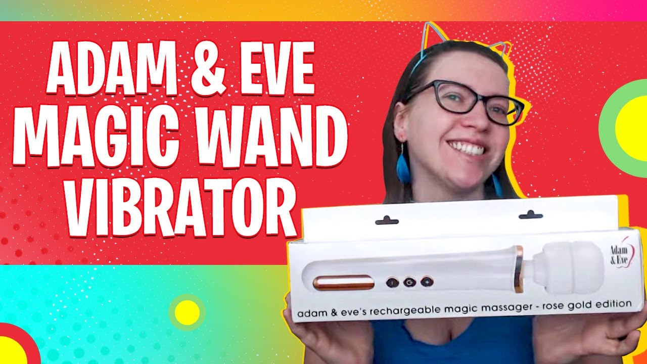 Adam & Eve Magic Massager Rechargeable Rose Gold Edition | 4.6 Out of 5 Stars Vibrating Wand Review