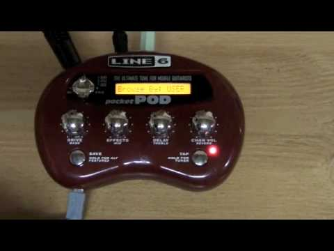 Line 6 Pocket Pod Guitar Gear Review Youtube
