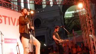 "WANDA ""Ich will Schnaps"" Wien Festival Michaelerlatz 1. Juni 2015"