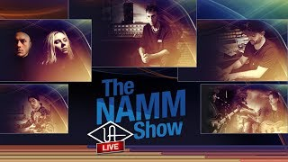 LUNA Livestream Replay - UA Live @ NAMM Day 1