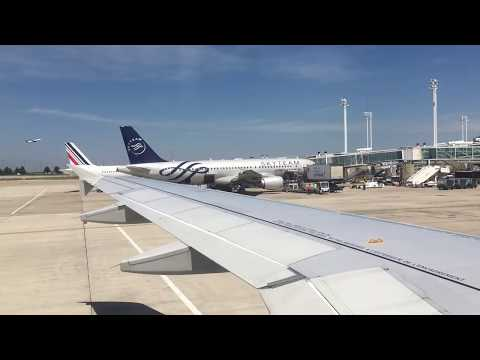 Trip Report— FLR-ORD on Air France (A318 and A330-200)