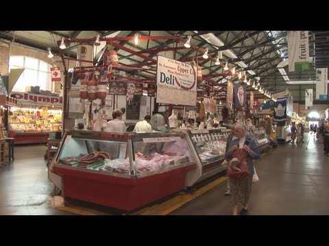 St. Lawrence Market, Toronto - Canada HD Travel Channel