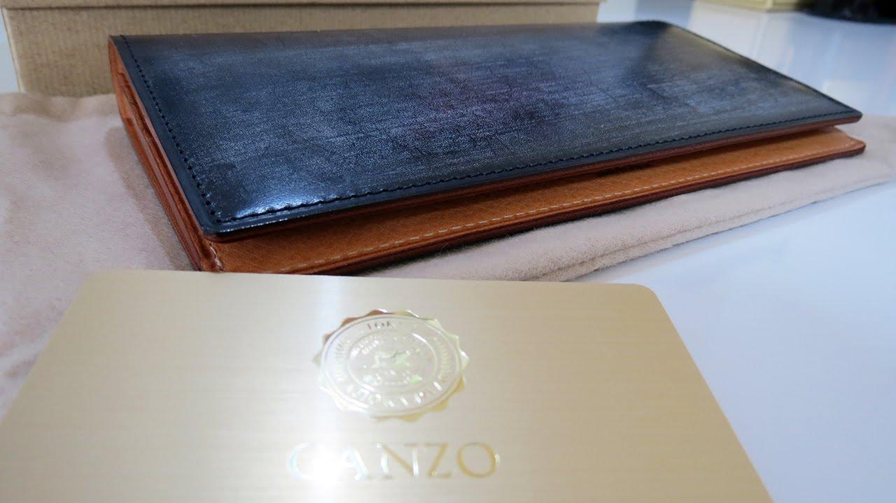 factory price f3f8c 4177a GANZO THIN BRIDLE(シンブライドル)ファスナー付き長財布