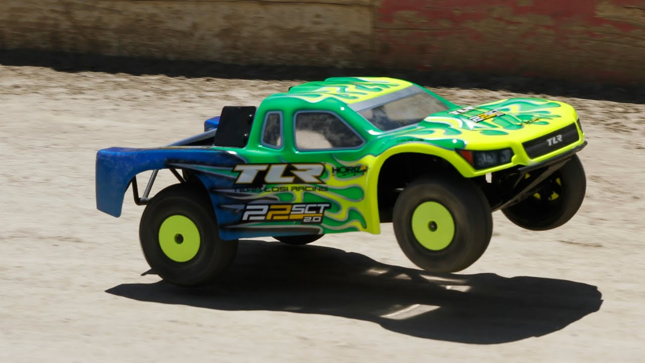 HorizonHobby Preview Team Losi Racing 22SCT 2 0 Part 5 Driving Experience
