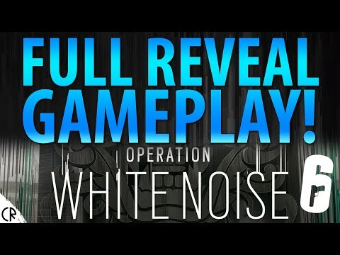 Full Reveal & Gameplay Live! - White Noise - Tom Clancy's Rainbow Six Siege - R6