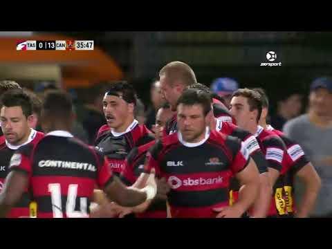 ROUND 1 HIGHLIGHTS: Tasman v Canterbury