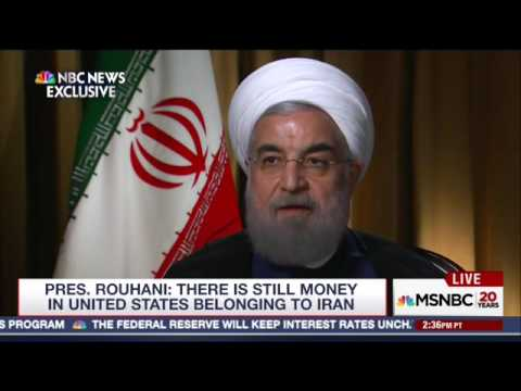 Hassan Rouhani Doesn't Deny That The Cash Payment To Iran Was Ransom