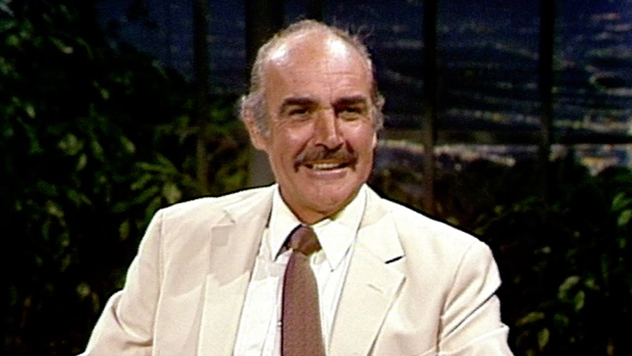 Sean Connery Talks About Playing James Bond Again After 12 years, on Carson Tonight Show - Part 02