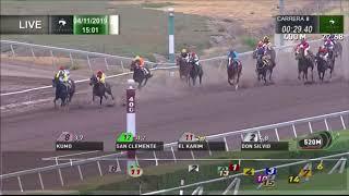 Vidéo de la course PMU PREMIO BAJO CERO