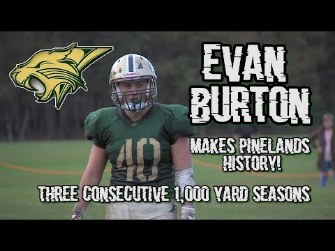 Pinelands 38 Keansburg 20 | Evan Burton Sets School Rushing Record