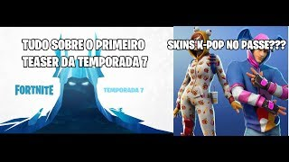 FORTNITE FIRST TEASER RELEASED AND K-POP SKINS IN THE PASS?