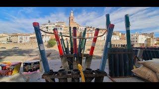Castillo de Albaida pirotecnia Nadal Marti de l'Olleria