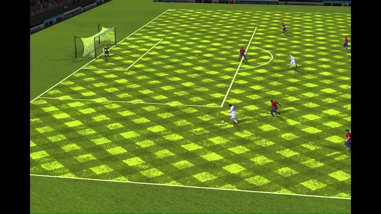 FIFA 14 iPhone/iPad - CA Osasuna vs. Real Madrid - YouTube
