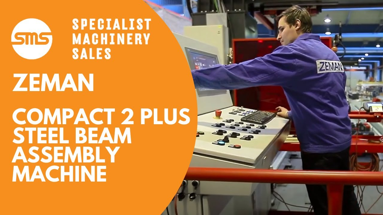 Zeman Compact 2 Plus - Steel Beam Assembly Machine | Specialist Machinery  Sales