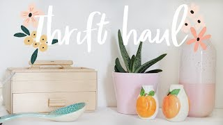 MASSIVE Thrifted Homeware Haul for the New House �