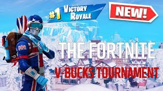 O TORNEIO FORTNITE V-BUCKS