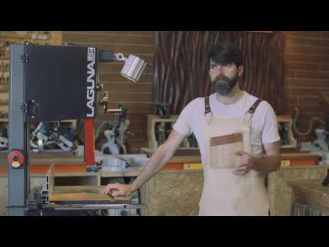 The Laguna 14|12 Bandsaw Review with Jory Brigham