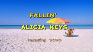 Alicia Keys Fallin' Karaoke