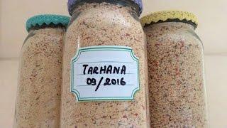 HOW TO MAKE USAK STYLE TURKISH TARHANA - 100 Years Old Family Recipe