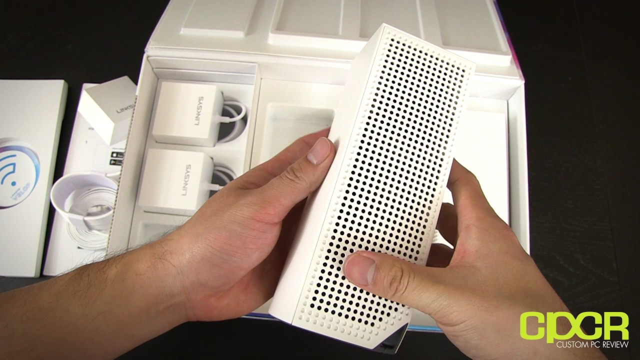 Linksys Velop Mesh WiFi Router Unboxing and Overview