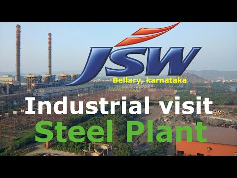 JSW industrial visit