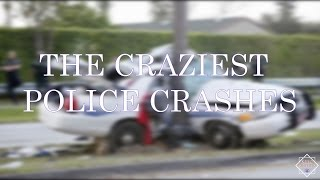 THE CRAZIEST POLICE CAR CRASHES YOU HAVE TO SEE DASH CAM VIDS
